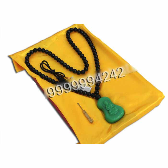Buddha Necklace Bluetooth Receiver Casino Gambling Devices Interact With Mobile Phone