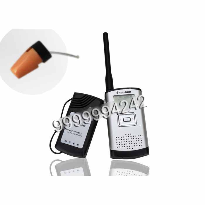 Gambling Accessories Mini Wireless Headphone For Poker Analyzer