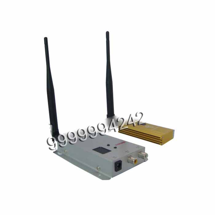Casino Cheating Devices Silver 12 Channels 1.2Ghz 1800 Wireless Emitter and Receiver