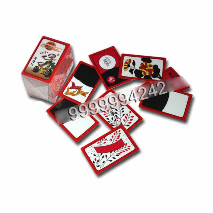 Korea Huatu Plastic Playing Cards Gambling Props For Gostop Bullfighting Game