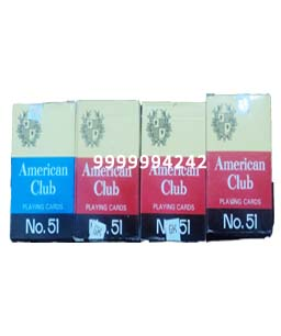 American Club Cheating Playing Cards